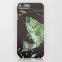 Bass Jumping At Night iPhone 6 Slim Case