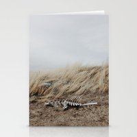 Winded Skeleton Stationery Cards