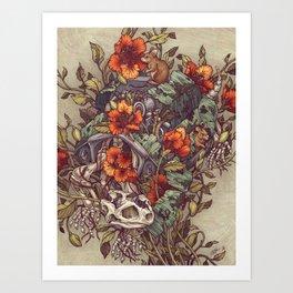 Art Print - Robo Tortoise - Kate O'Hara Illustration