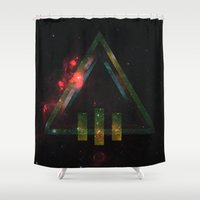 Dead Throne Shower Curtain