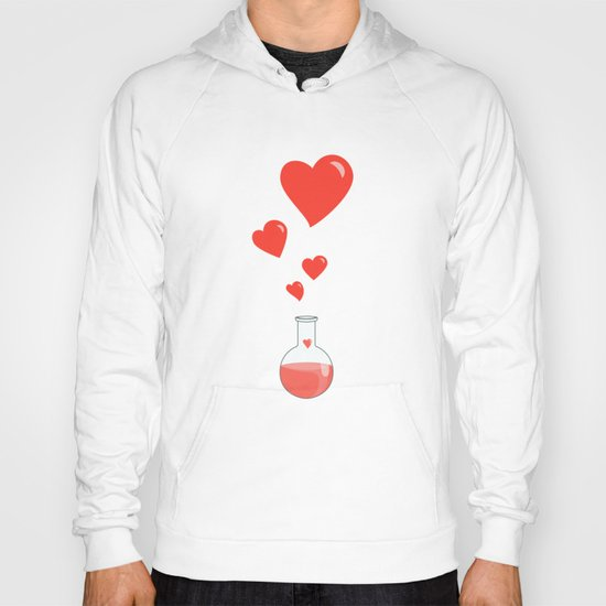 Love Chemistry Flask of Hearts Hoody