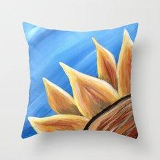 Fall Sunflower Throw Pillow