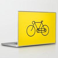 bicycle Laptop & iPad Skins featuring Bicycle by Luke Turner