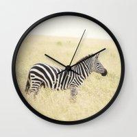 be still::kenya Wall Clock