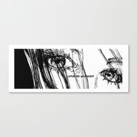 WHAT DO YOU WANT Canvas Print