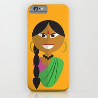 Indian Doll iPhone 6 Slim Case