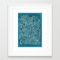 Sea Of Everything Framed Art Print
