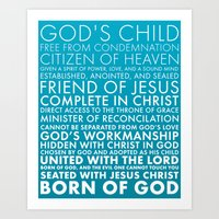 Identity in Christ Art Print