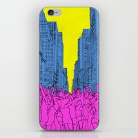 Living For The City iPhone & iPod Skin