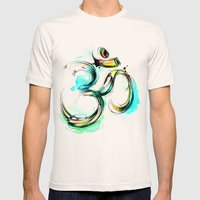 Ohm Mens Fitted Tee Natural SMALL
