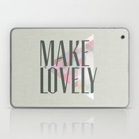 Make Lovely // Stone Laptop & iPad Skin
