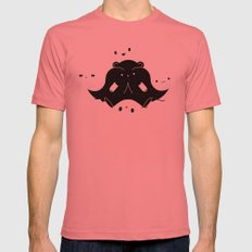 IMMIGRANT BEARS Mens Fitted Tee Pomegranate SMALL