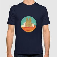 devotion Mens Fitted Tee Navy SMALL