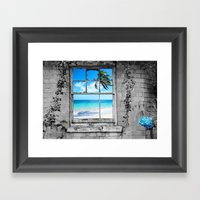 POLARITY Framed Art Print