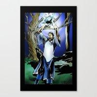 Dirk Nowitzki The Eterna… Canvas Print