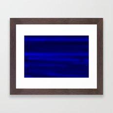 darkBlue sky Framed Art Print