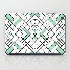 PS Grid 45 Mint iPad Case