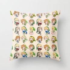 Link Cheebs Throw Pillow