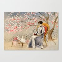 The Cherry Orchard Canvas Print