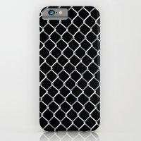 Chain Link on Black iPhone 6 Slim Case