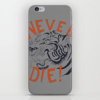 Never Die! iPhone & iPod Skin