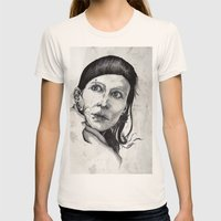 Salander I Womens Fitted Tee Natural SMALL