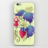 Raspberry iPhone & iPod Skin