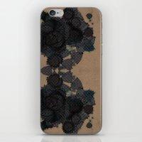 datadoodle kaleidoscope iPhone & iPod Skin