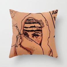Ghetto Cinderella  Throw Pillow