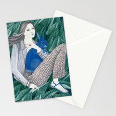 Blue Bunny Stationery Cards