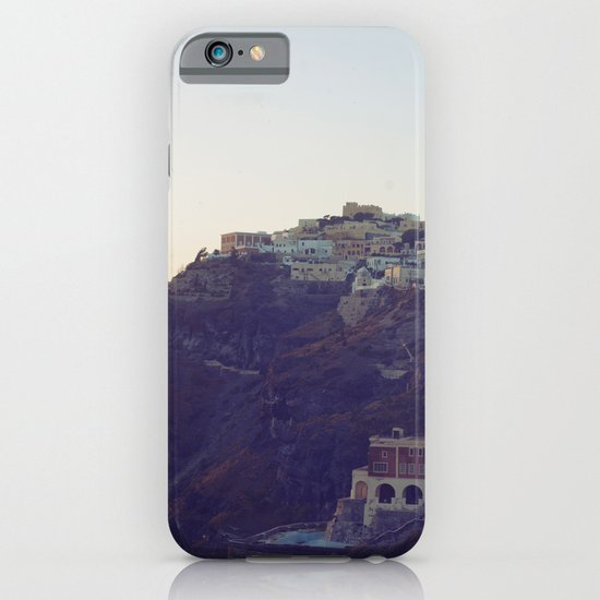 Fira at Dusk III iPhone & iPod Case