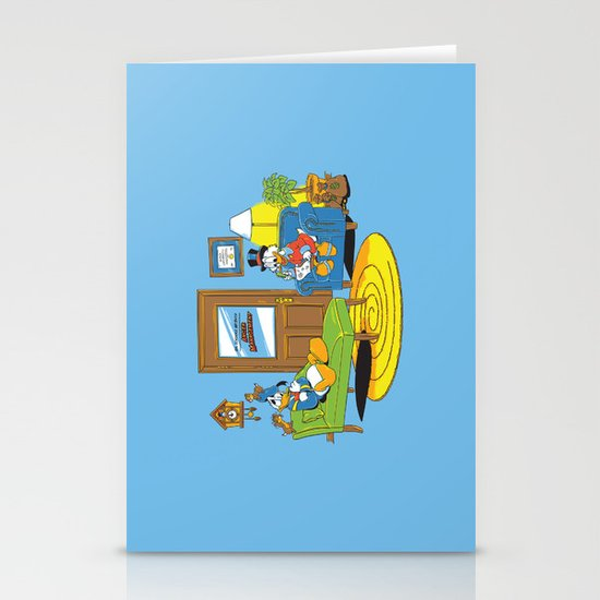 Quack Therapy Stationery Card