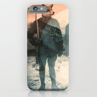 iPhone Cases featuring Fox Hunt by Chase Kunz