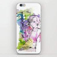 Class Actress iPhone & iPod Skin