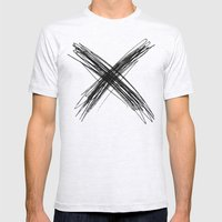 XS Mens Fitted Tee Ash Grey SMALL