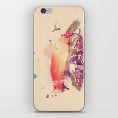 Woodlands Fox iPhone & iPod Skin