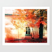 Season of Fire Art Print
