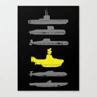 Know Your Submarines Canvas Print