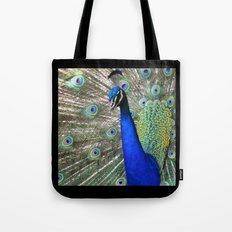Strutting Peacock Tote Bag