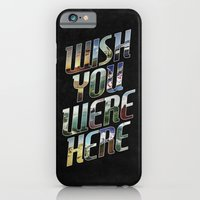 iPhone & iPod Case featuring Wish You Were Here by Dianne Delahunty