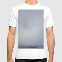 Moody + Dramatic Mens Fitted Tee White SMALL