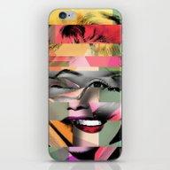 iPhone & iPod Skin featuring Marilyn by Mark Ashkenazi