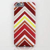 Red Chevron iPhone 6 Slim Case