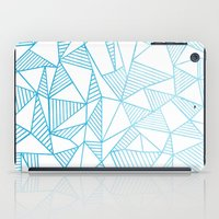 Abstraction Lines Waterc… iPad Case
