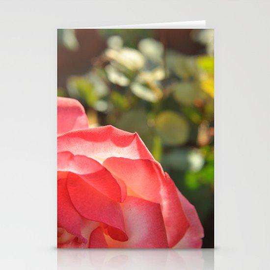 rose Stationery Card