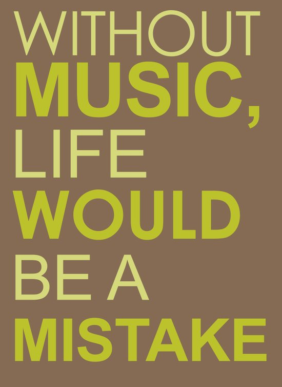 Without Music Art Print