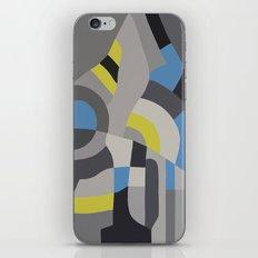 Hacienda Grey iPhone & iPod Skin