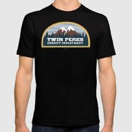 T-shirt featuring Twin Peaks Sheriff Depar… by Gimetzco's Damaged G…