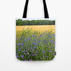 Field of Blue Tote Bag