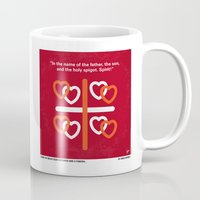 No259 My Four Weddings and a Funeral minimal movie poster Mug